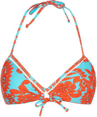 RAISINS Floral Womens Swimsuit Top