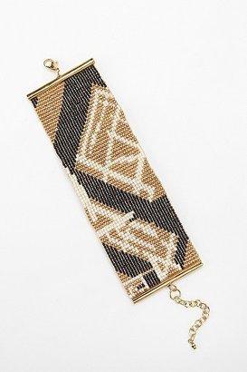 Urban Outfitters Geo Seed Bead Bracelet