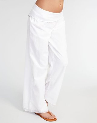 Seafolly Beachside Roll Top Beach Pant