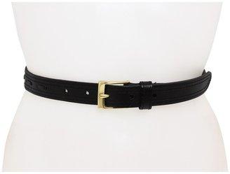Linea Pelle Hip w/ Center Lacing (Black) - Apparel