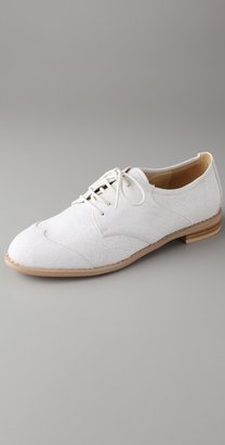 F-Troupe Canvas Flat Oxfords