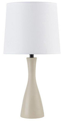 Lights Up! Oscar Table Lamp with Soy Base