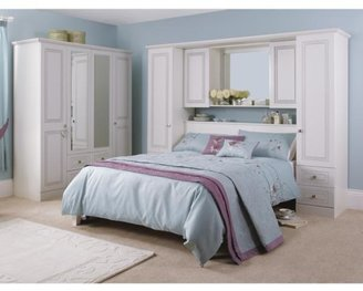 Consort Furniture Limited Kendal Ready Assembled Overbed Storage Unit