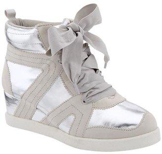 Gap Metallic wedge sneakers