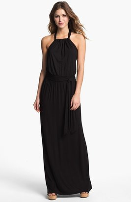 Caslon Halter Knit Maxi Dress