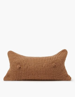 A Cup Pillow in Almond