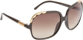 Chloé Oversized Square Frame Sunglasses