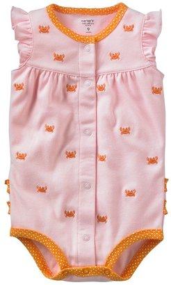 Carter's crab bodysuit - baby