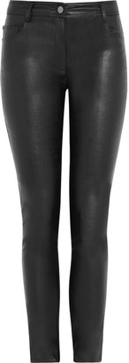 Karl Lagerfeld Pacey faux leather mid-rise skinny pants