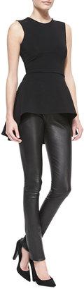 Cushnie et Ochs Moto-Style Leather Leggings