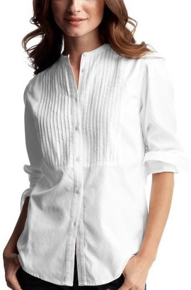 Gap Pleated button-front shirt