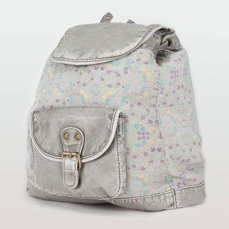Floral Canvas Backpack