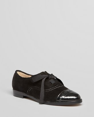 Kate Spade Lace Up Oxford Flats - Poppin Too
