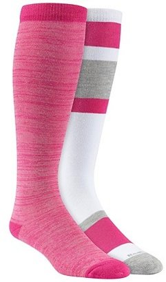 Reebok Block Mix Knee High Socks - 2 Pair