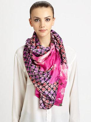 Athena Procopiou Moorish Opulence Silk Scarf