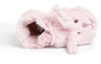 Robeez 'Fuzzy Bunny' Crib Shoe (Baby & Walker)