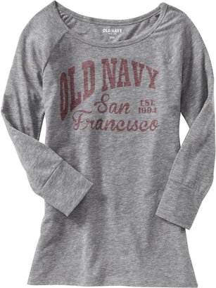 Old Navy Women's 3/4-Sleeve Graphic Tees