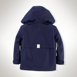 Stadium Hooded Raincoat