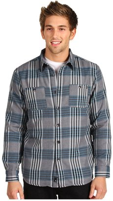 Rip Curl Blown Out Flannel (Charcoal) - Apparel