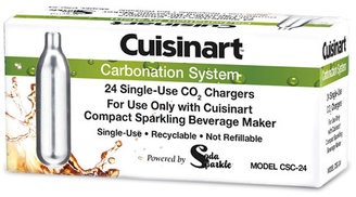 Cuisinart CO2 Chargers for Compact SodaSparkle, 24-pack