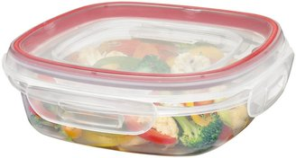 Rubbermaid Lock-Its 3 Cup Square Food Storage Container w/ Lid