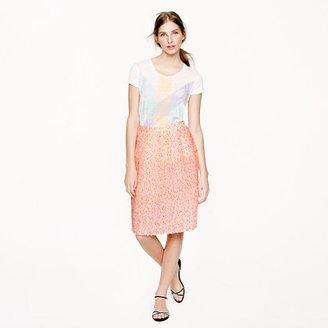 J.Crew Collection confetti gauze skirt