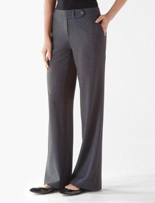 Calvin Klein Essential Charcoal Stretch Suit Pants