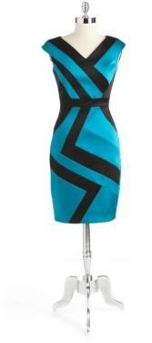 Jax Cap-Sleeved Sheath Dress