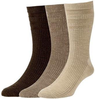 H.J.Hall HJ Hall Wool Soft Top Socks, Pack of 3, One Size