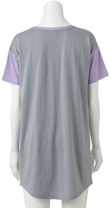 So ® pajamas: drop-shoulder sleep shirt - juniors