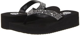 Yellow Box Africa (Black) Women's Wedge Shoes