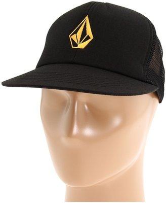 Volcom Full Stone Cheese Hat (Black) - Hats