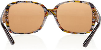 M Missoni Square-frame acetate sunglasses