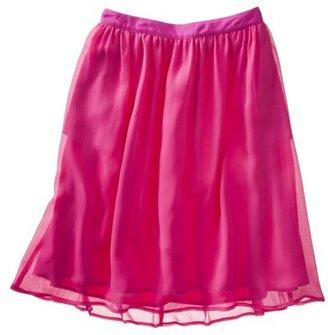 Merona Women's Crinkle Chiffon Skirt - Assorted Colors
