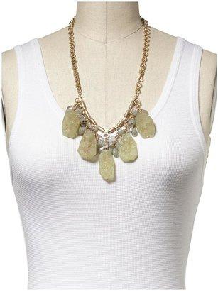 Juicy Couture Sabine Lime Drop Necklace