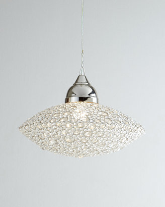 "Horchow ""Scattered Crystal"" Chandelier"