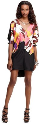 "Tibi Bahati"" Printed Silk Dress"