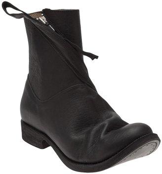 Boris Bidjan Saberi Diagonal zip boot