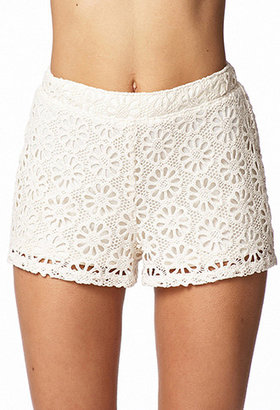 Forever 21 Crocheted Daisy Shorts