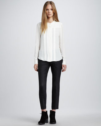 Theory Slim Cropped Pants