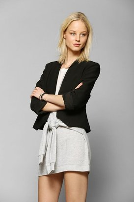 Sparkle & Fade Kate Collarless Cropped Blazer