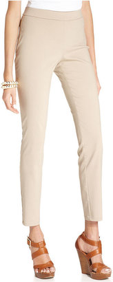 Style&Co. Pants, Tummy-Control Skinny Pull-On