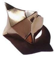 TRUNFIO Rhino Ring in Gold