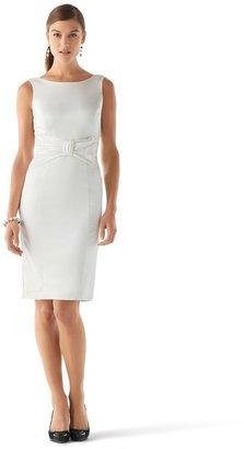 White House Black Market Matte Satin Dress