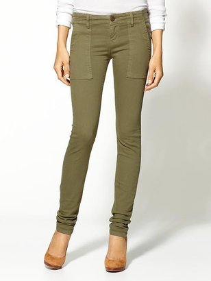 Current/Elliott Combat Skinny Jeans