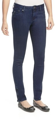 William Rast Raven Skinny Jeans - Ankle Zips, Cotton Twill (For Women)