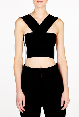 McQ by Alexander McQueen Bandage Knit Top