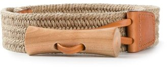 Christophe Lemaire braided belt