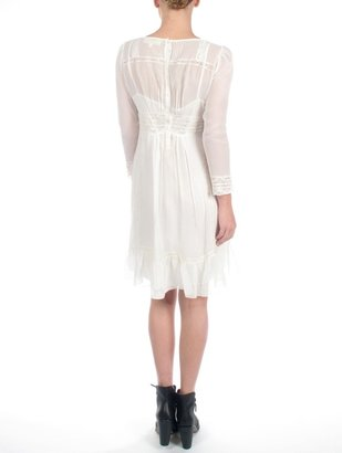 Vanessa Bruno athé by White Button Back Dress