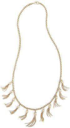 Tassel Necklace $298 thestylecure.com